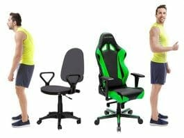 The difference between gaming chairs and office chairs