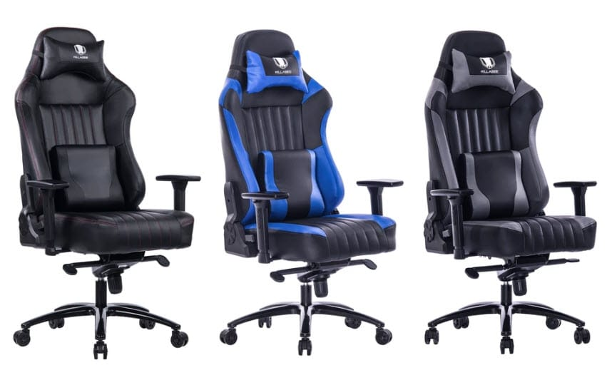 Killabee 8212 gaming chair big and tall