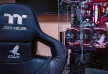 Gaming chair used by pro gamer