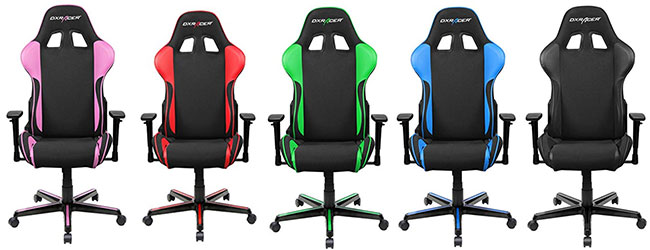 DXRacer Formula Series gaming chairs