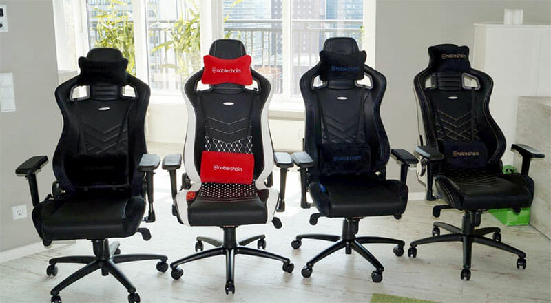 Noblechairs Epic gaming chairs