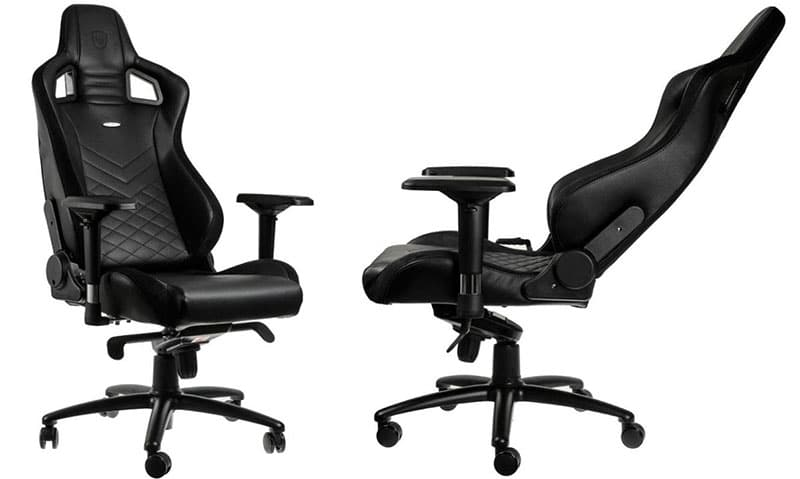Noblechairs Epic black PU leather model