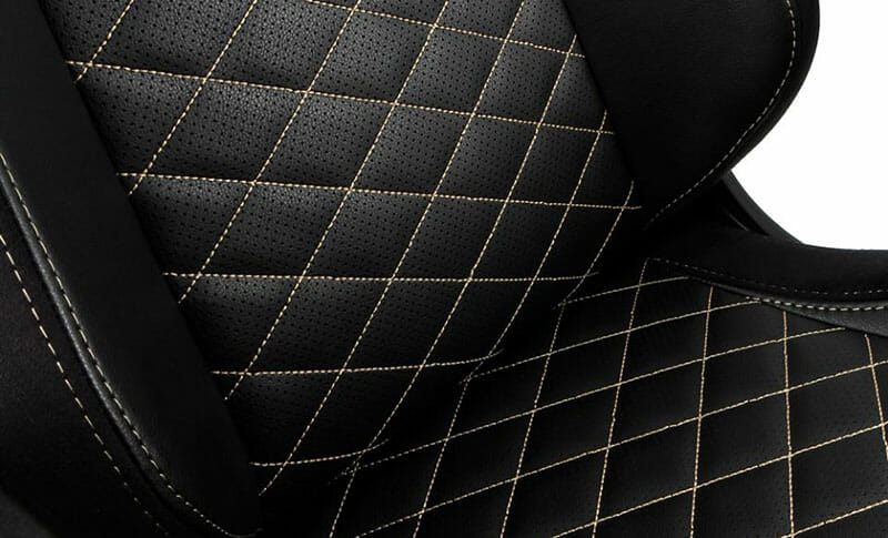 Noblechairs Epic PU leather closeup