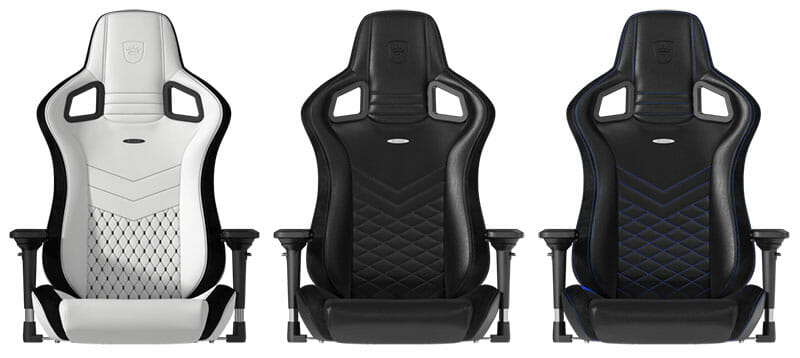 Gaming chair bucket seats