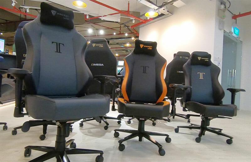 Secretlab Singapore gaming chair showroom