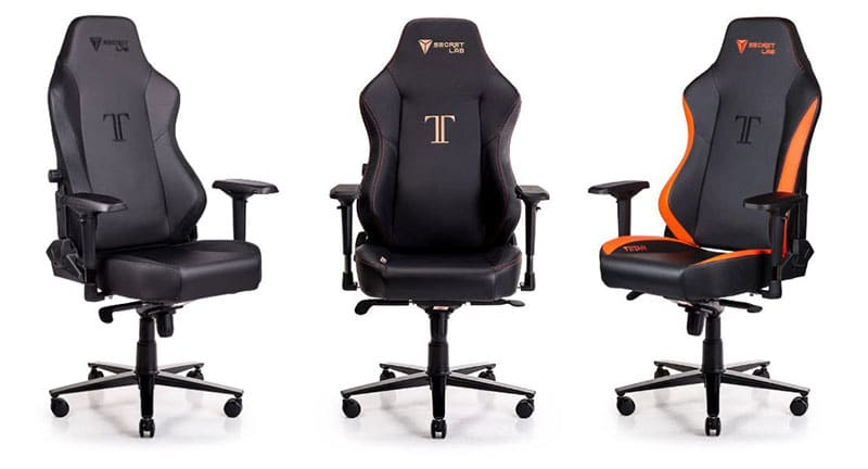 Secretlab Titan gaming chairs