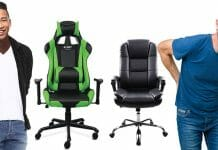 Gaming chair compared to office chairs are much better
