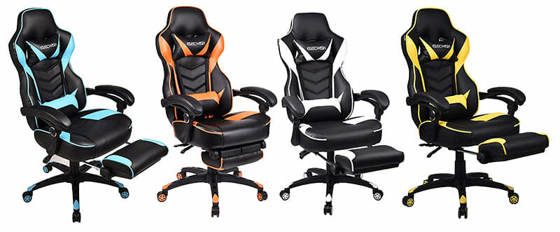Elecwish gaming chairs, four colors