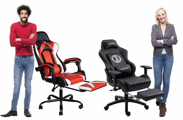 Brilliant Gaming Chairs With Footrests And Gaming Stools Chairsfx Lamtechconsult Wood Chair Design Ideas Lamtechconsultcom
