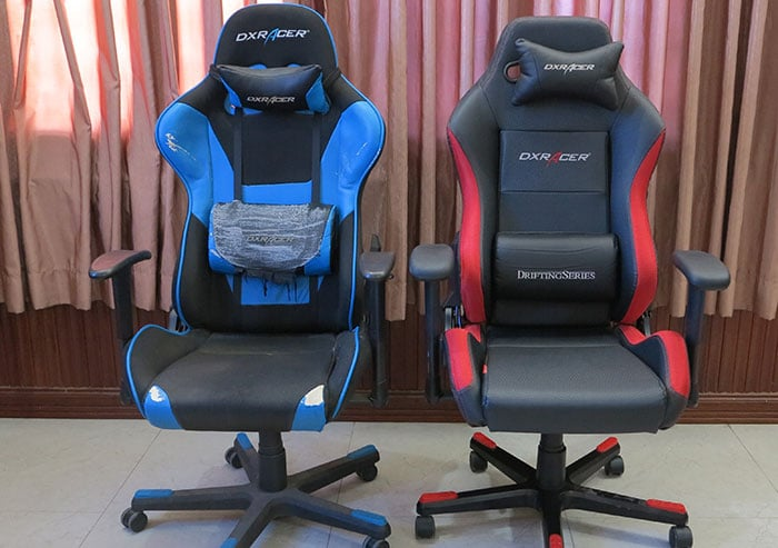 DXRacer gaming chairs used by ChairsFX