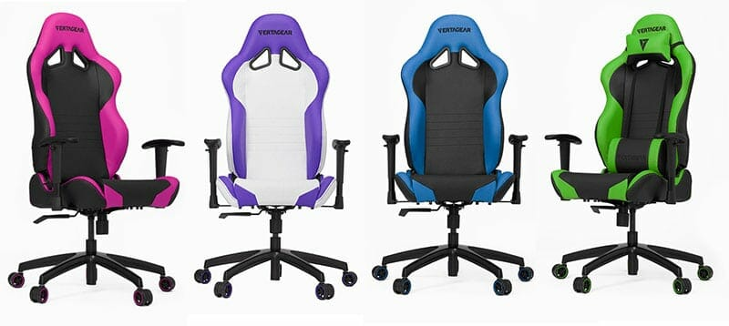 Vertagear Racing Series S-Line SL2000 gaming chairs