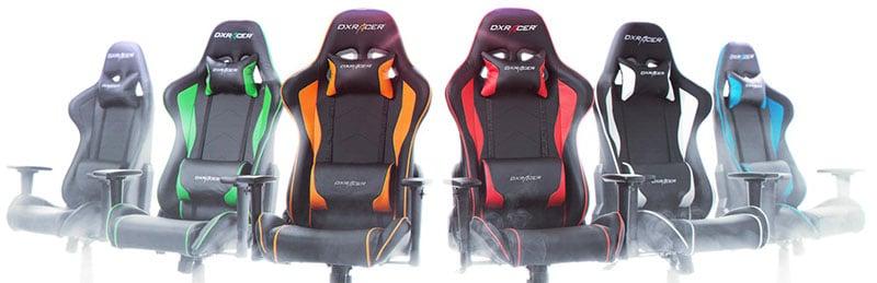 DXracer Formula Series gaming chairs