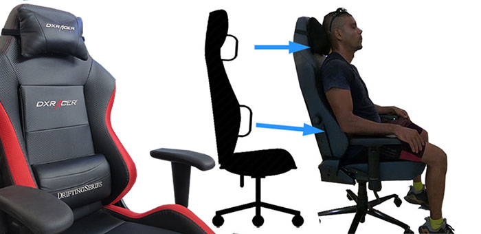 Incredible Are Gaming Chairs Good For Your Back Chairsfx Andrewgaddart Wooden Chair Designs For Living Room Andrewgaddartcom