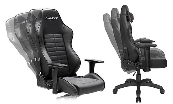 Gaming chair reclining options