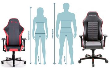 Gaming chair size guide
