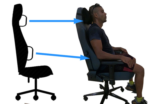 Fine Are Gaming Chairs Good For Your Back Chairsfx Inzonedesignstudio Interior Chair Design Inzonedesignstudiocom