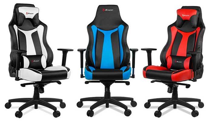Arozzi Vernazza Series Super Premium Gaming Racing Style Swivel Chair