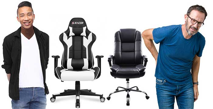 Budget gaming chair benefits over office chairs