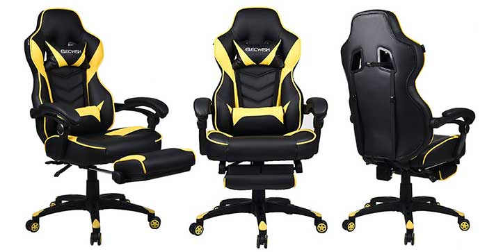 Elecwish budget gaming chair