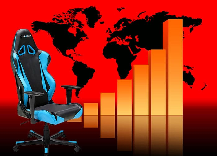 Gaming chair market growth