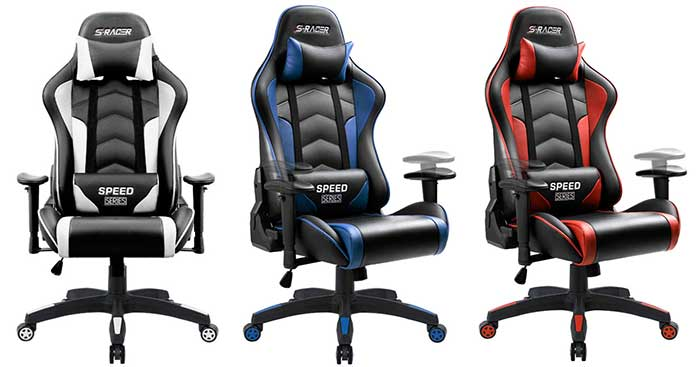 Homall Luxury Gaming Chair