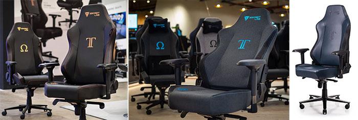 Secretlab Titan upholstery options