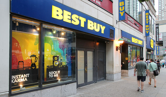 BestBuy outlet in Ontario
