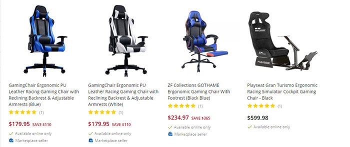 Bestbuy featured gaming chairs
