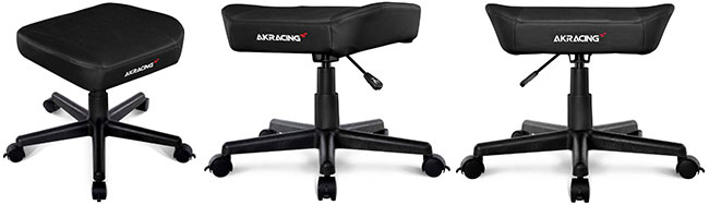 AKRacing gaming chair footstool