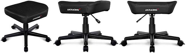 AKRacing gaming chair footstool