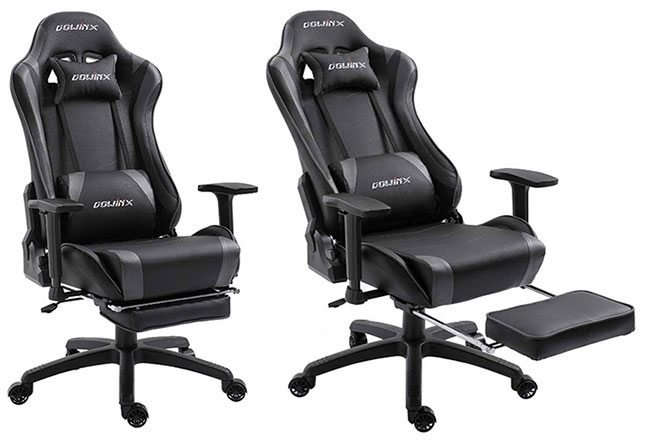 Astonishing Best Gaming Chairs With Footrest Reviews Chairsfx Evergreenethics Interior Chair Design Evergreenethicsorg