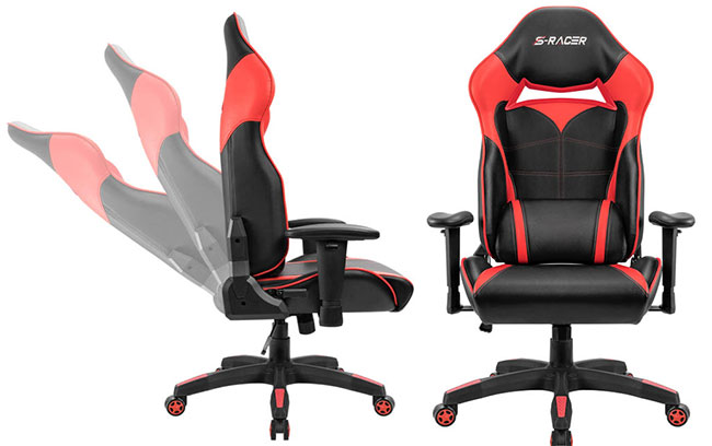 The cheapest Homall racing style chair