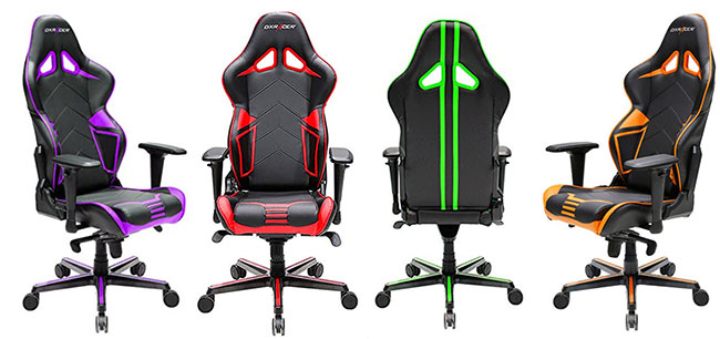 DXRacer Racing Series gaming chairs