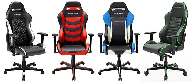 DXRacer Drifting Series gaming chairs