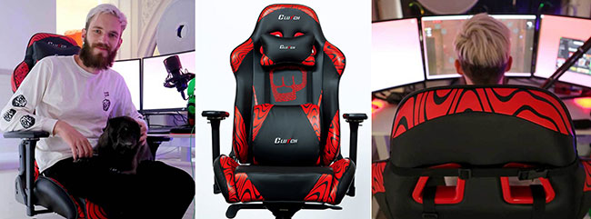 Pewdiepie gaming chair