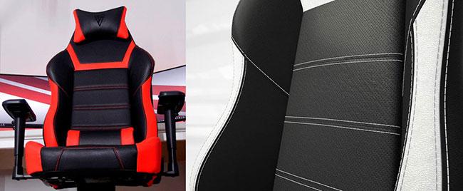 Vertagear PL 6000 400 lbs chair closeup