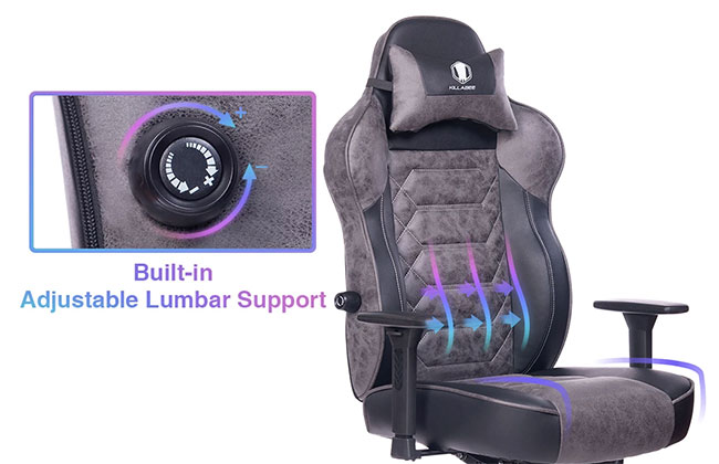 Killabee 8272 built in lumbar support