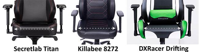 Killabee 8272 wide seat