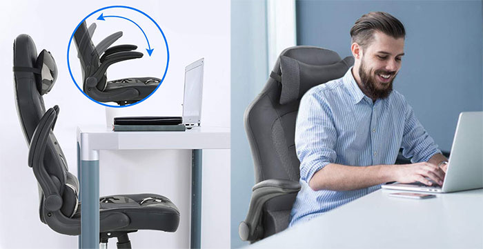 BestOffice chair armrests