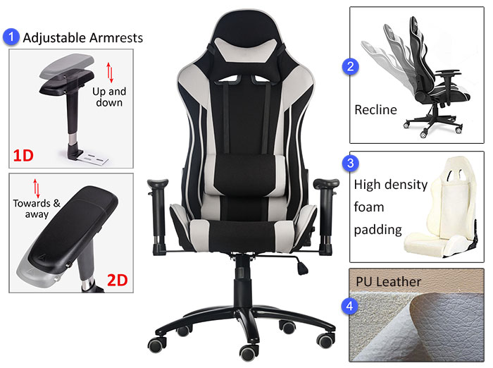 Pleasant Best Cheap Gaming Chairs Under 200 Chairsfx Ibusinesslaw Wood Chair Design Ideas Ibusinesslaworg