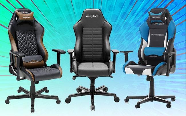 DXRacer Drifting Series gaming chairs