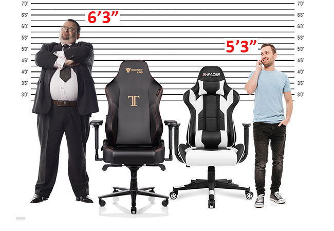 Admirable Gaming Chair Sizing Guide For New Users Chairsfx Pdpeps Interior Chair Design Pdpepsorg