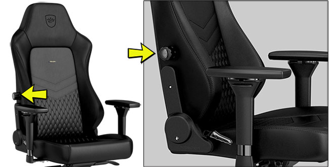 Noblechairs Hero lumbar support