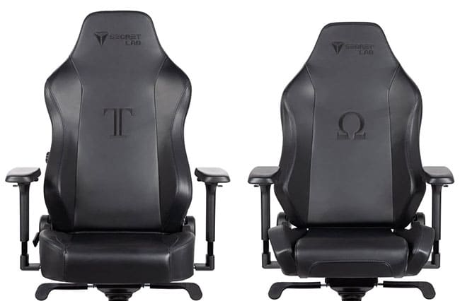 Secretlab NAPA leather chairs