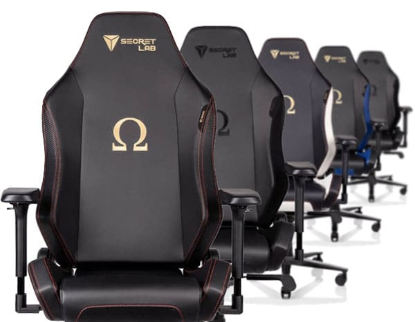 Secretlab Omega color options