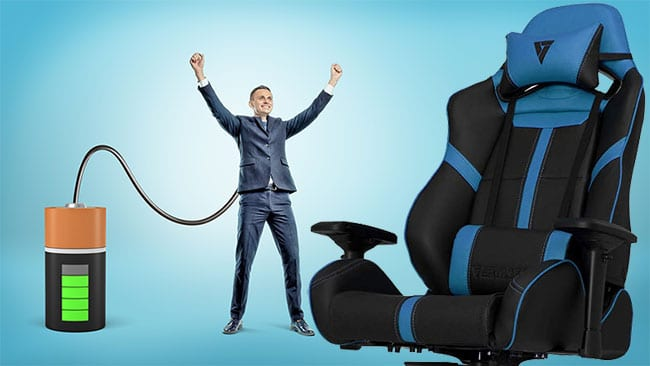 Gaming chair power users