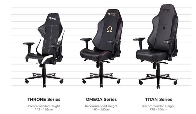 Secretlab gaming chair sizes