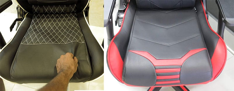 Cheap gaming chair padding