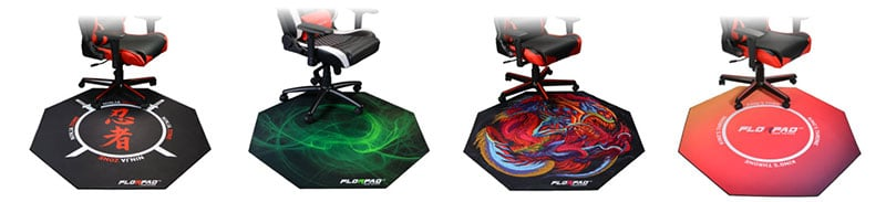 Florpad gaming chair mats