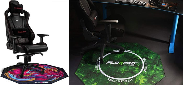 Florpad gaming chair mat